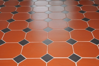 floor detail - individually laid