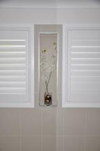 White Bathroom Detail